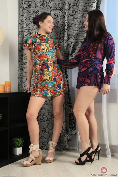 ATK porn Canella and Alya